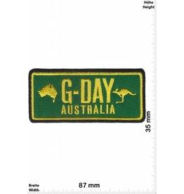Australia G-Day - Australia - green