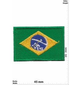 Brasil 2 Stück ! Flagge  Brasilien - Brasil - klein