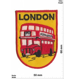 England London - Wappen - Doppeldeckerbus - UK