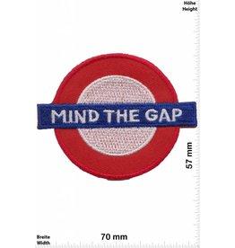 England Mind the Gap -  London Underground  - UK