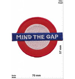 England Mind the Gap -  London Undergrund  - UK