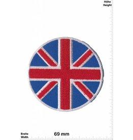 England Union Jack - round - UK