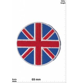 England Union Jack - rund - UK