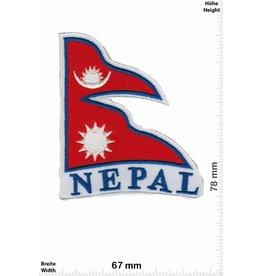 Nepal Nepal Wappen - Flagge