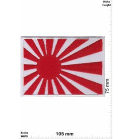 Japan Kyokujitsuki - BIG - white - Rising Sun Flag - Japanese military flag