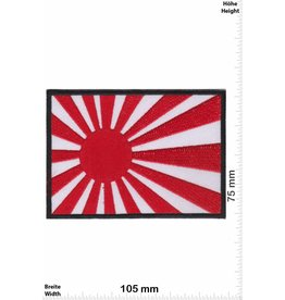 Japan Kyokujitsuki - BIG - black - Rising Sun Flag - Japanese military flag