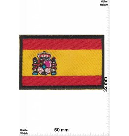 Spain 2 Stück  -  Flagge Spanien - 2 Piece - Flag Spain - klein