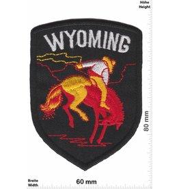 USA Wyoming - schwarz