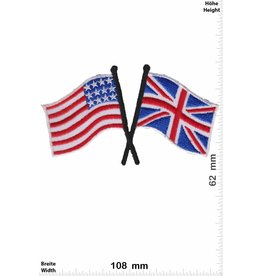 USA USA - UK - United Kingdom - Flags
