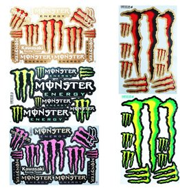 F4 Bögen 5 Sticker Sheets (F4)  Energy M. MIX 1 -