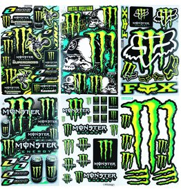 F4 Bögen 6 Sticker Sheets (F4)  Energy M. MIX 2 -