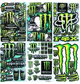 F4 Bögen 6 Sticker Sheets (F4)  Energy M. MIX 2 -