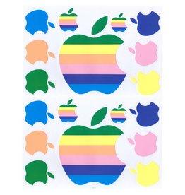 F4 Bögen 2 Sticker Sheets (F4)  Apple pastel - Computer -