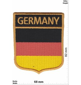 Germany Germany  Wappen - Deutschland - Flagge