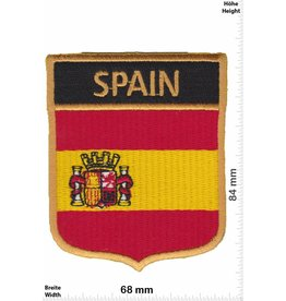 Spain Spanien  Wappen - Spain - Flagge