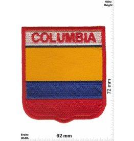 Columbia Kolumbien - Columbia  Wappen  - Flagge
