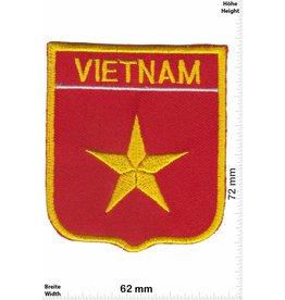 Vietnam Vietnam - Wappen  - Flagge