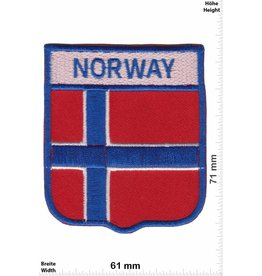 Norway Norwegen - Norway - Wappen  - Flagge