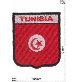 Tunisia Tunesien - Tunisia - Wappen  - Flagge