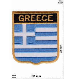 Greece Griechenland - Greece- Wappen  - Flagge