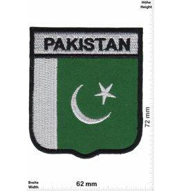 Pakistan  Pakistan - Wappen  - Flagge
