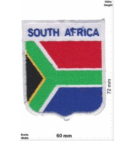 South Africa Südafrika - South Africa - Wappen  - Flagge