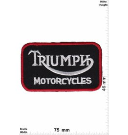 Triumph Triumph Motorcycles - schwarz rot