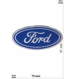 Ford Ford - LOGO - blue - 2 silver