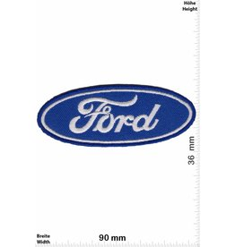 Ford Ford - LOGO - blue -long