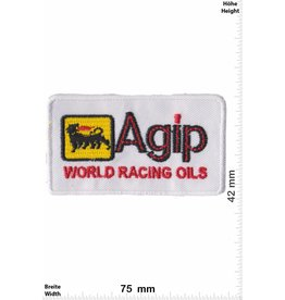 Agip Agip World Racing Oils - white - small