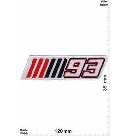 93 Marc Marquez 93 - Marc Márquez - white