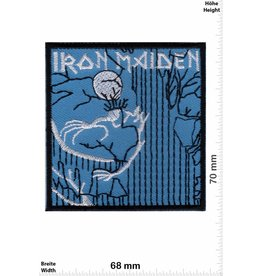 Iron Maiden Iron Maiden - blue