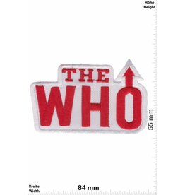 The Who The Who - red