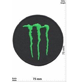 Monster Monster - round - Energy  - schwarz grün