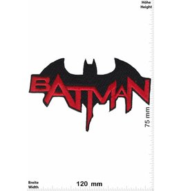 Batman Batman - red black