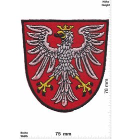Deutschland, Germany Frankfurt - Hessen - Coat of arms with eagle