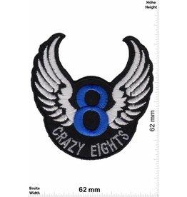 8 Ball Crazy Eights - 8 - mit Flügel - blue