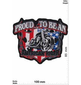 USA Proud to be American Rider - USA