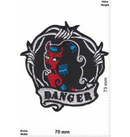 Danger Danger - schwarz-  Oldschool