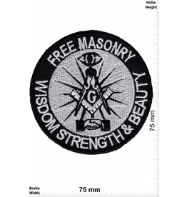 Free Masonry Freimaurer - Free Masonry - Wisdom Strenght & Beauty