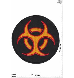 Biohazard BIOHAZARD VIRUS - gold red