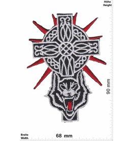 Kruzifix Cross - Crucifix - Wolf