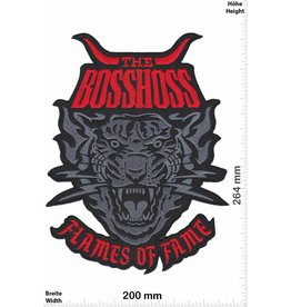 Bosshoss The BOSSHOSS - Flames of Fame - red- 26cm - BIG