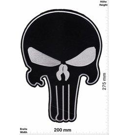 Punisher Punisher schwarz -  27 cm - BIGBiker Chopper - Rocker - Motorcycle - Kutte