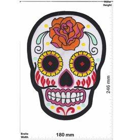 Muerto Skull - Muerto- weiss -  24 cm