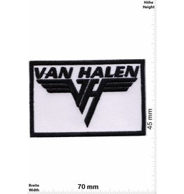 Van Halen Van Halen - white -Hard-Rock-Band