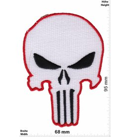 Punisher Punisher - weiss  rot