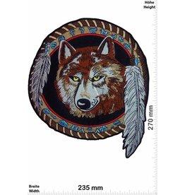 Wolf Indianer - Wolf -  27 cm
