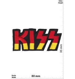 Kiss Kiss - red gold