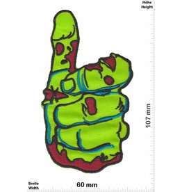 Zombie Zombie Hand - thumb - green
